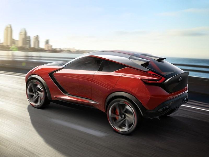 Nissan Gripz Concept 2015 вид сбоку сзади