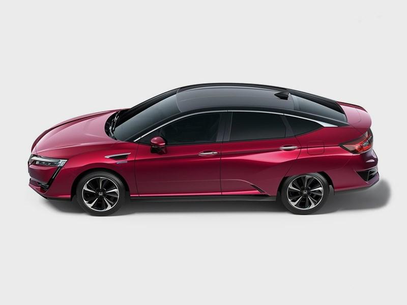 Honda Clarity Fuel Cell 2016 вид сверху