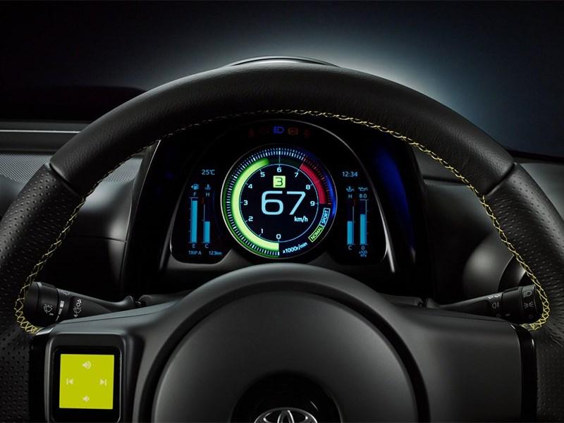 Toyota S-FR Concept 2015 приборная панель