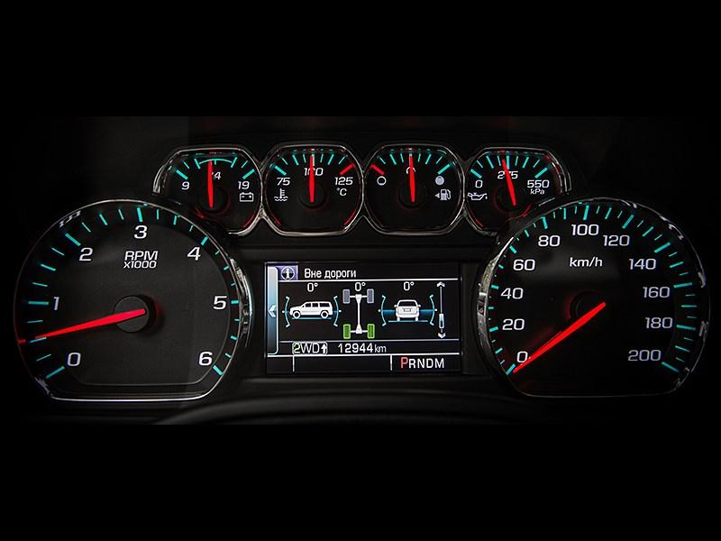 Chevrolet Tahoe 2015 приборная панель