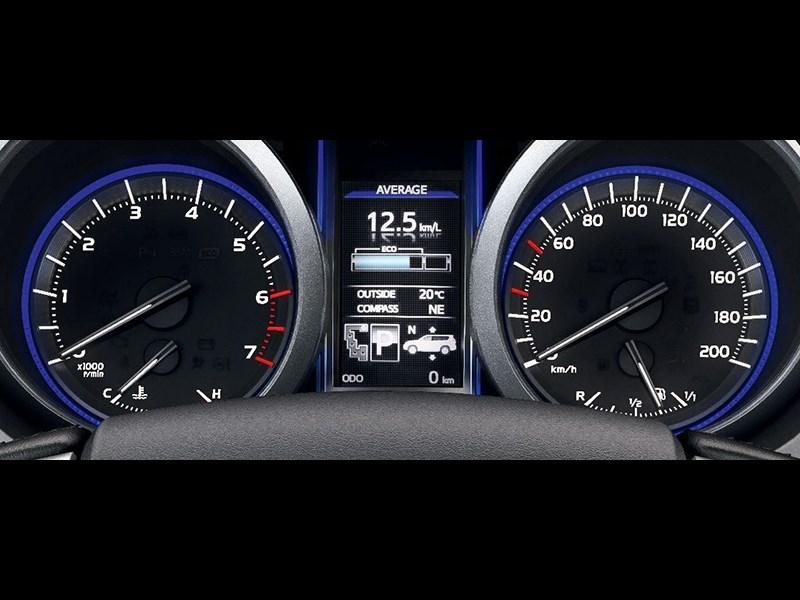 Toyota Land Cruiser Prado 2014 приборная панель