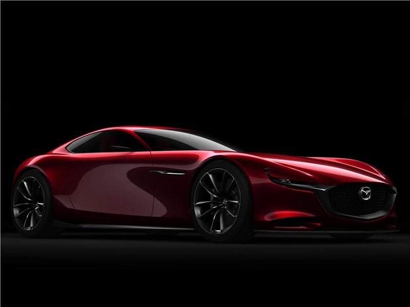 Mazda RX-Vision Concept 2015 вид спереди сбоку