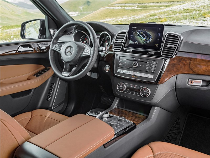 Mercedes-Benz GLS 2016 салон