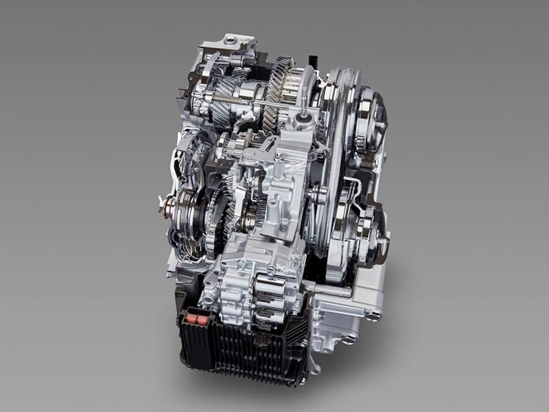Тойота показала новейшую КПП, объединившую внутри себя «механику» ивариатор