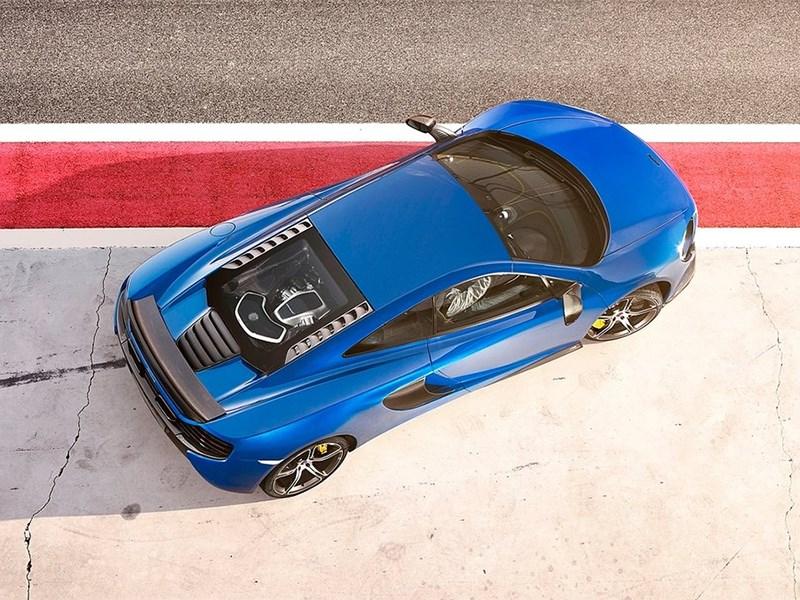 McLaren 650S 2014 вид сверху