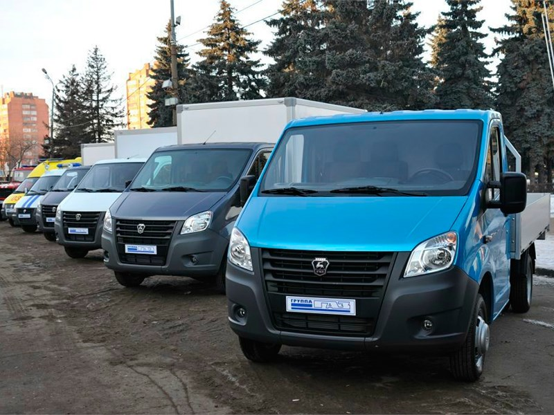 Российский рынок LCV в ноябре просел на 45,2%