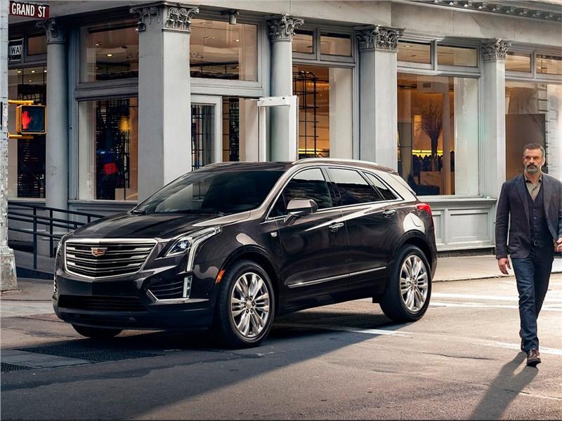 Cadillac XT5 2017 Американская диета