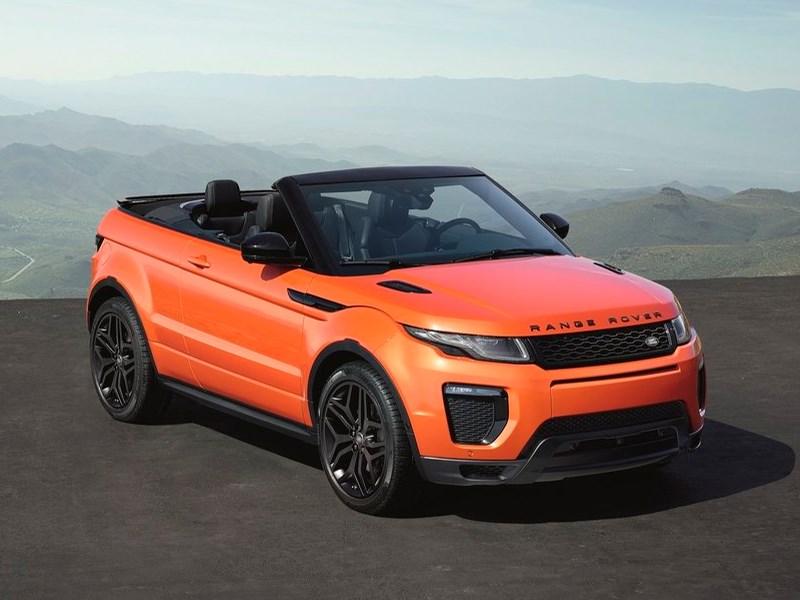 Кабриолет Range Rover Evoque в России будет стоить больше четырех миллионов