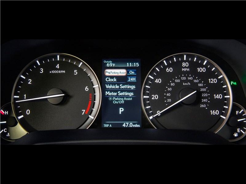 Lexus RX 2016 приборная панель