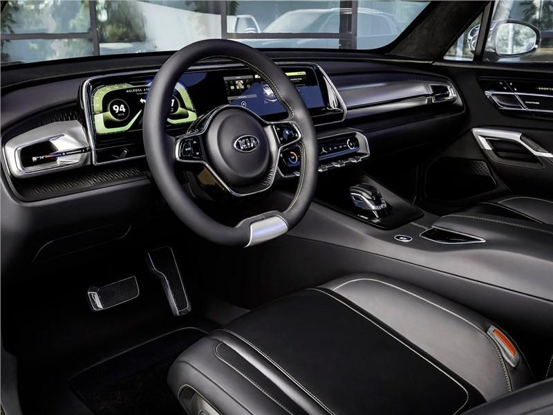 Kia Telluride Concept 2016 водительское место