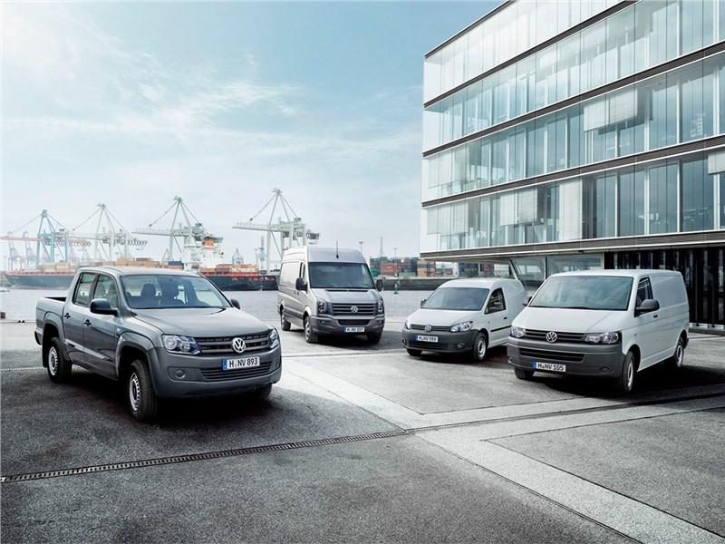 Объем продаж Volkswagen в сегменте LCV в январе вырос на 2,1 процента