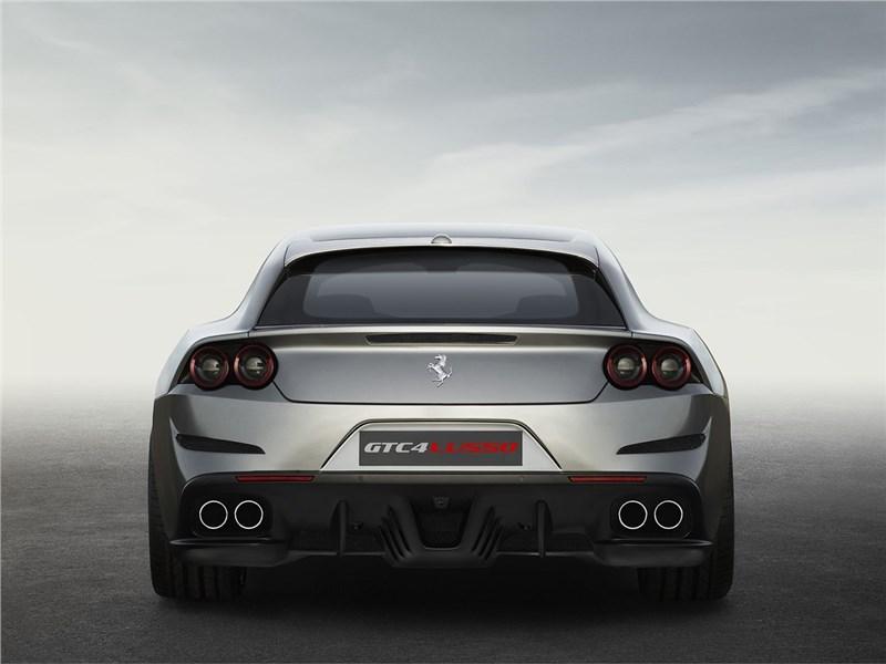 Ferrari GTC4 Lusso 2016 вид сзади 2