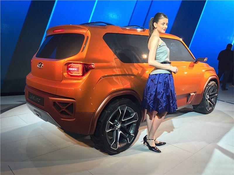 Hyundai Carlino concept 2016 вид сбоку сзади