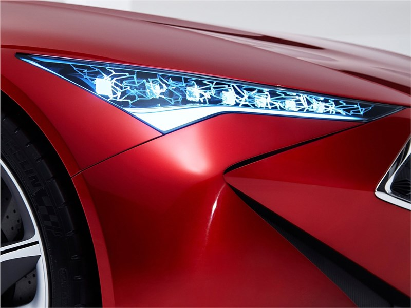 Acura Precision concept 2016 передняя фара