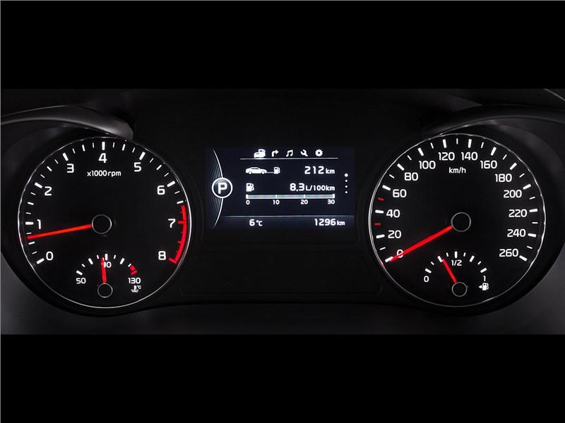 Kia Optima 2016 приборная панель