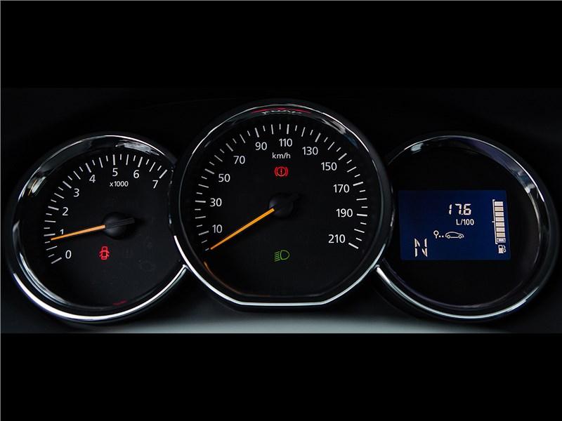 Renault Sandero 2013 приборная панель