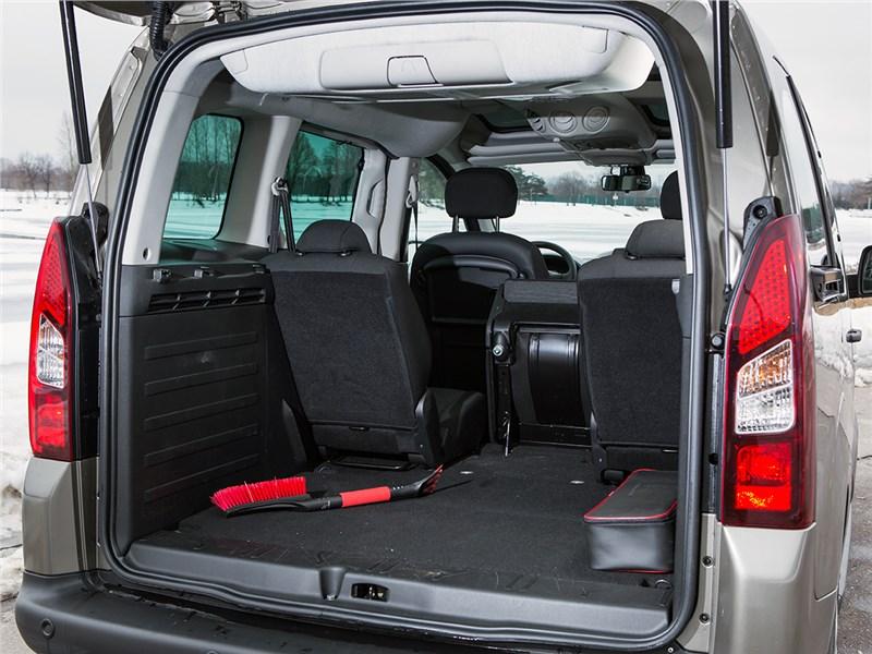 Citroen Berlingo 2015 багажное отделение