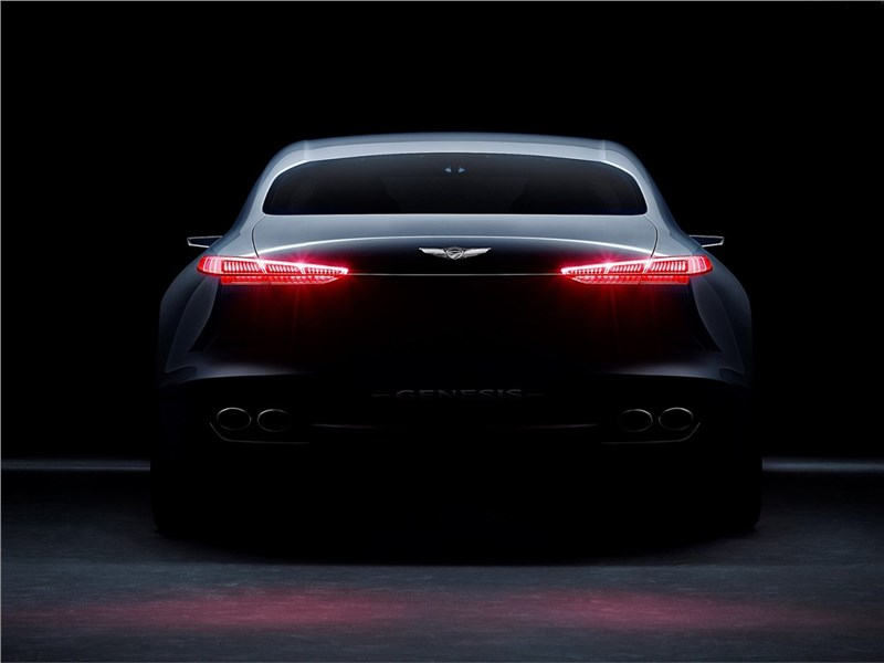 Hyundai Genesis New York Concept 2016 вид сзади