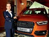 Новый Audi Q3 - Премьера ночной Москвы
