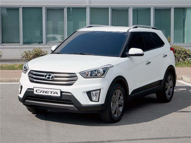 Hyundai Creta 2016 завеса тайны приоткрыта