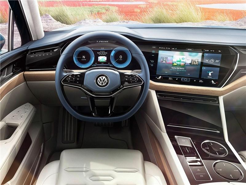 Volkswagen T-Prime Concept GTE 2016 салон