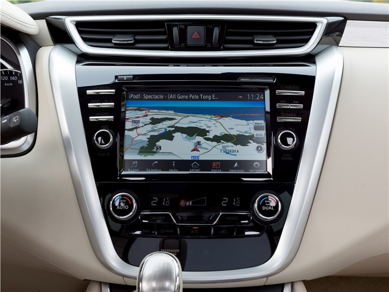 Nissan Murano 2015 центральная консоль