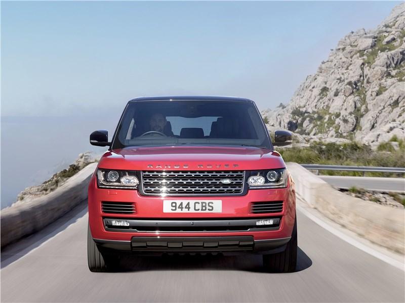 Land Rover Range Rover SVAutobiography Dynamic 2017 вид спереди