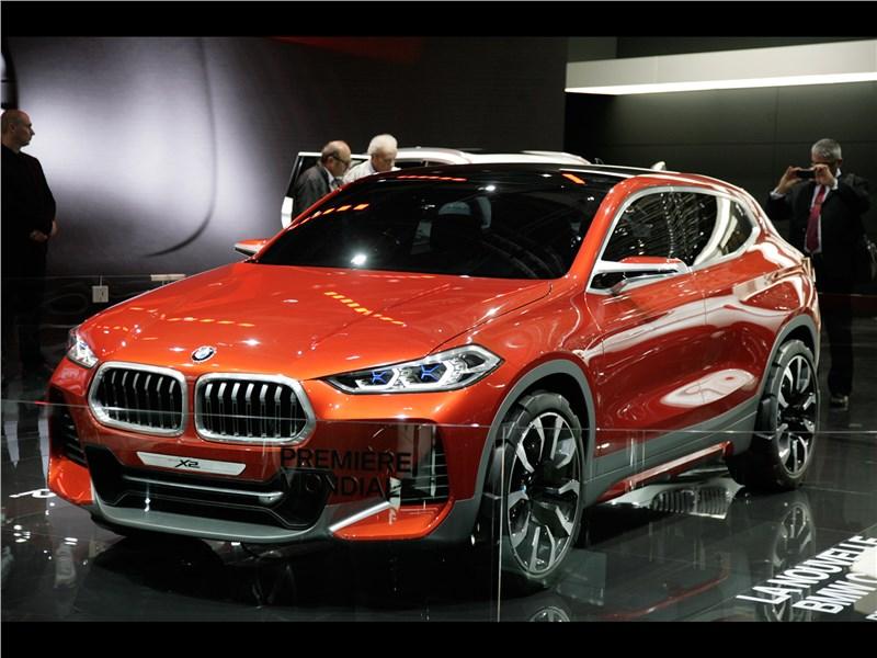 BMW X2 concept 2016 вид спереди