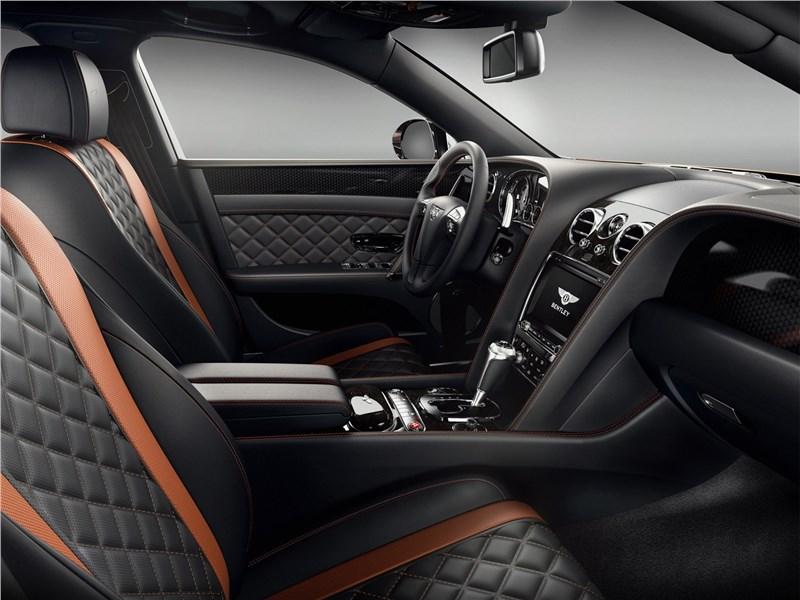 Bentley Flying Spur W12 S 2017 передние кресла