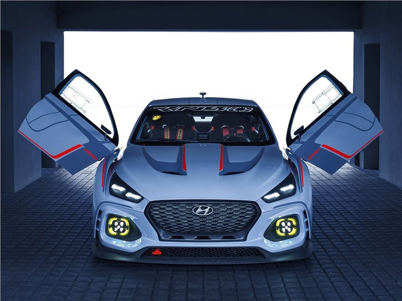 Hyundai RN30 Concept 2016 вид спереди