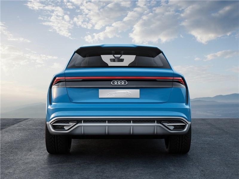 Audi Q8 concept 2017 вид сзади