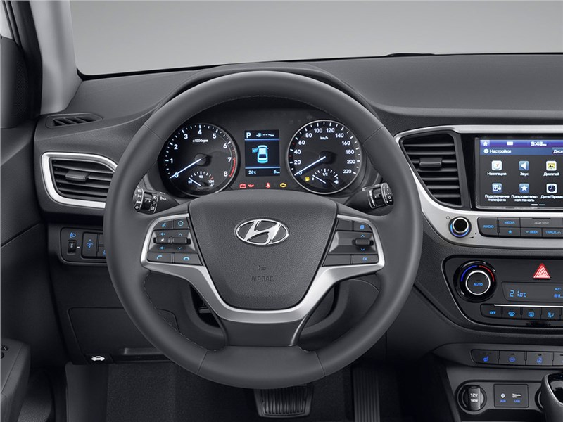 Hyundai Solaris 2017 водительское место