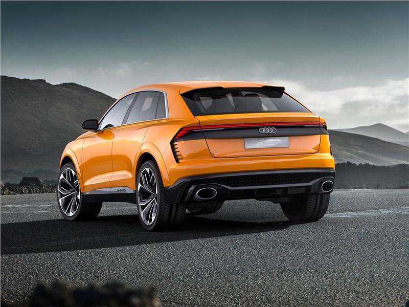 Audi Q8 Sport Concept 2017 вид сзади