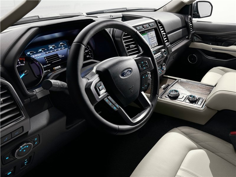 Ford Expedition 2018 салон