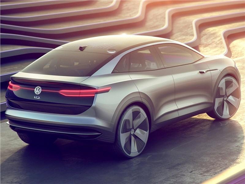 Volkswagen ID Crozz Concept 2017 вид сзади