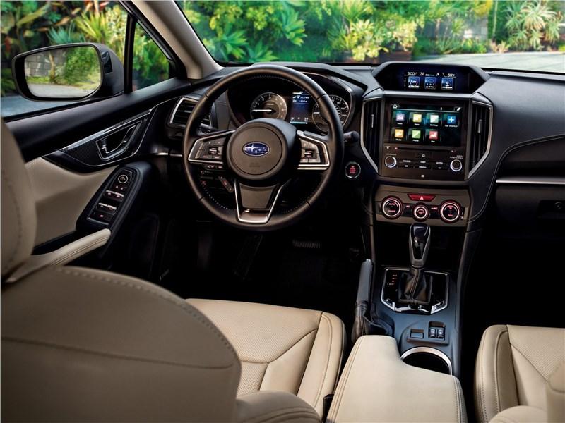 Subaru Impreza 2017 салон
