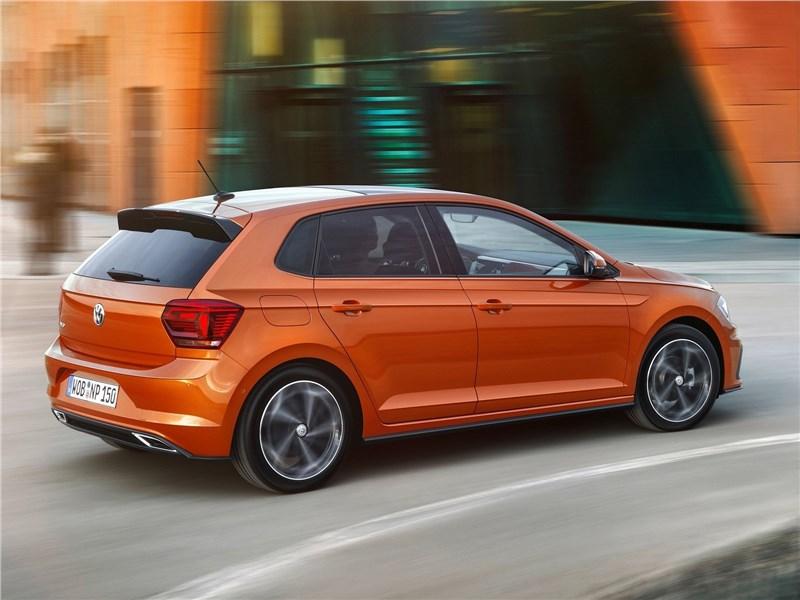 Volkswagen Polo 2018 вид сзади