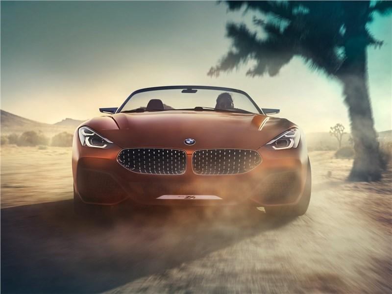 BMW Z4 Concept 2017 вид спереди
