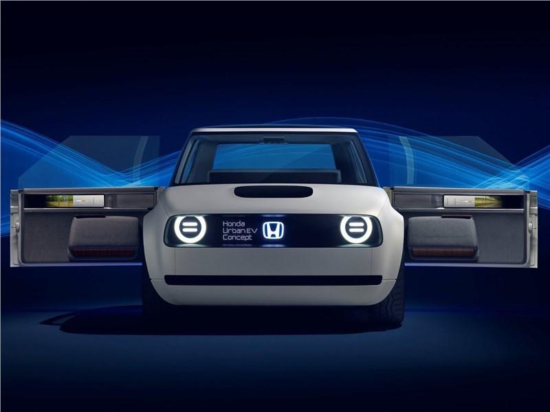 Honda Urban EV Concept 2017 вид спереди