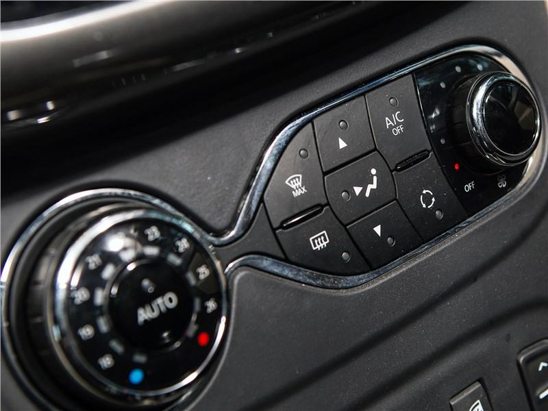 Renault Logan 2014 управление климатом