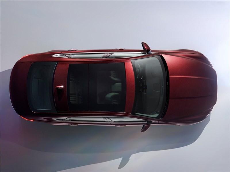 Jaguar XFL 2017 вид сверху