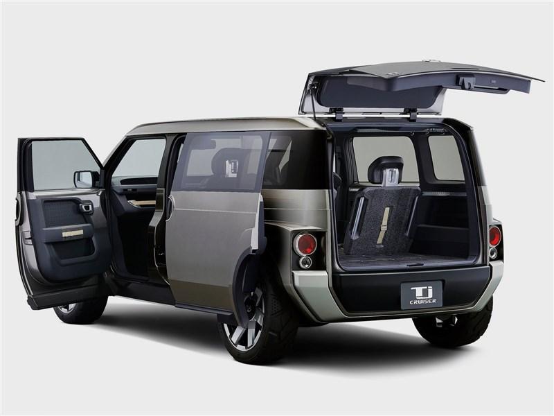 Toyota Tj Cruiser Concept 2017 вид сзади