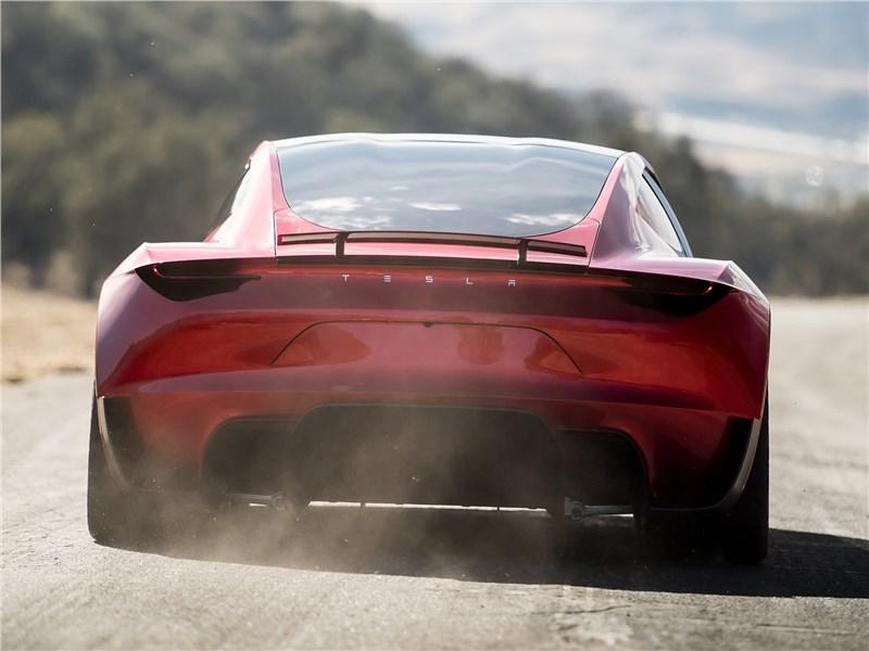 Tesla Rodster Concept 2020 вид сзади