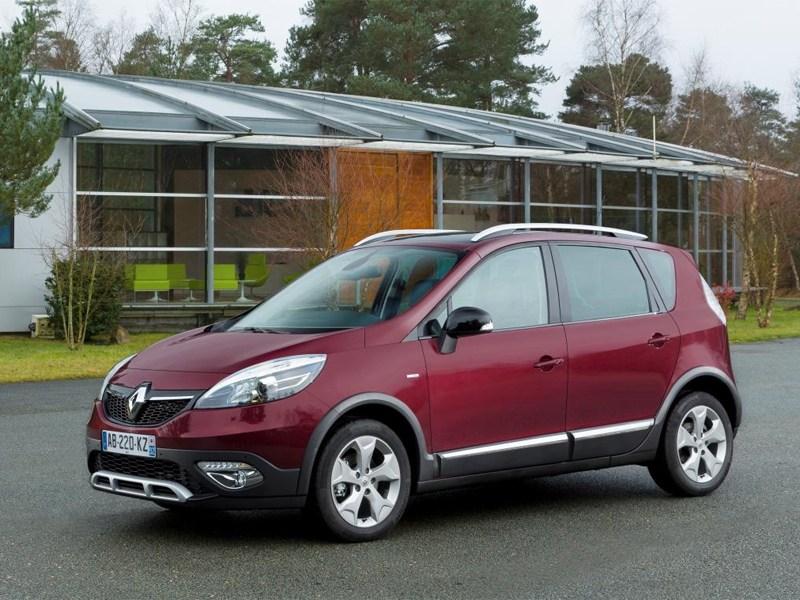 Renault Scenic XMOD показали на фото