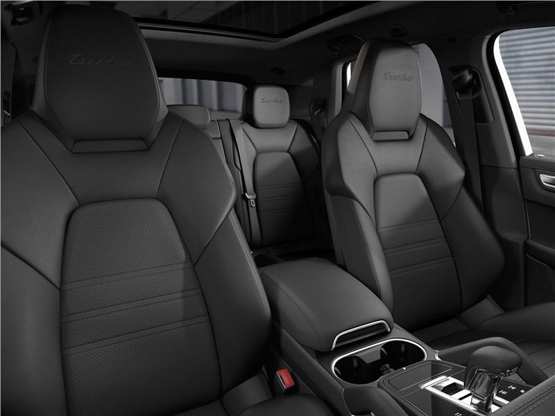 Porsche Cayenne 2018 передние кресла