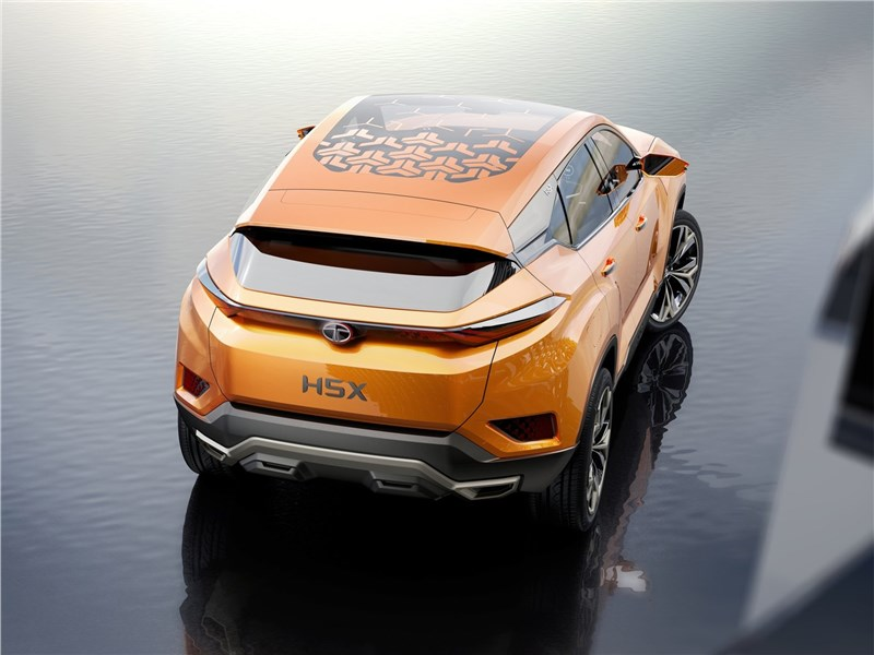 Tata H5X Concept 2018 вид сзади
