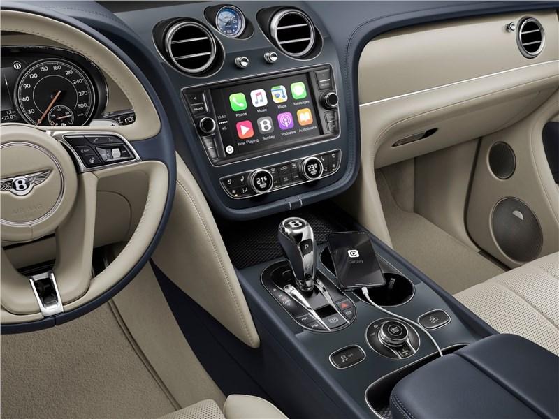 Bentley Bentayga Hybrid 2019 салон