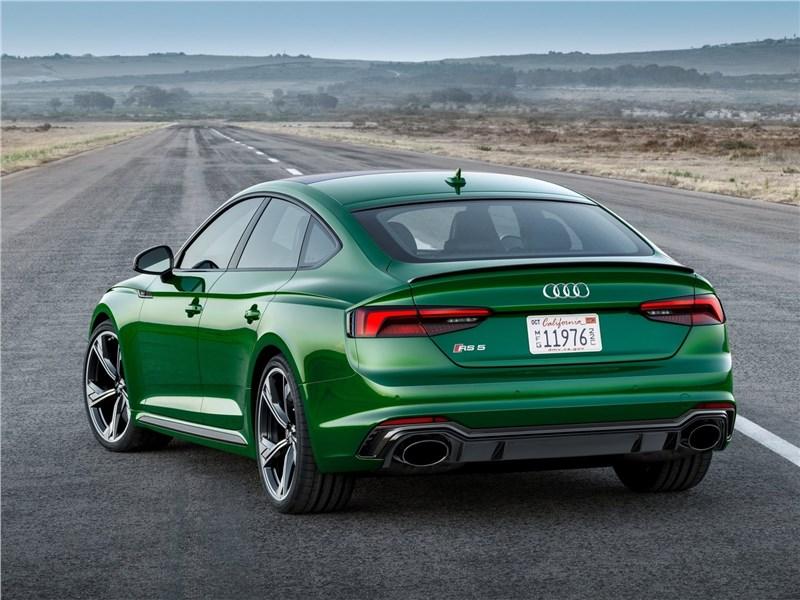 Audi RS5 Sportback 2019 вид сзади