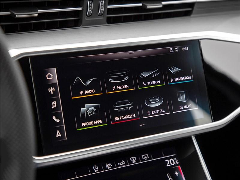 Audi A6 2019 монитор