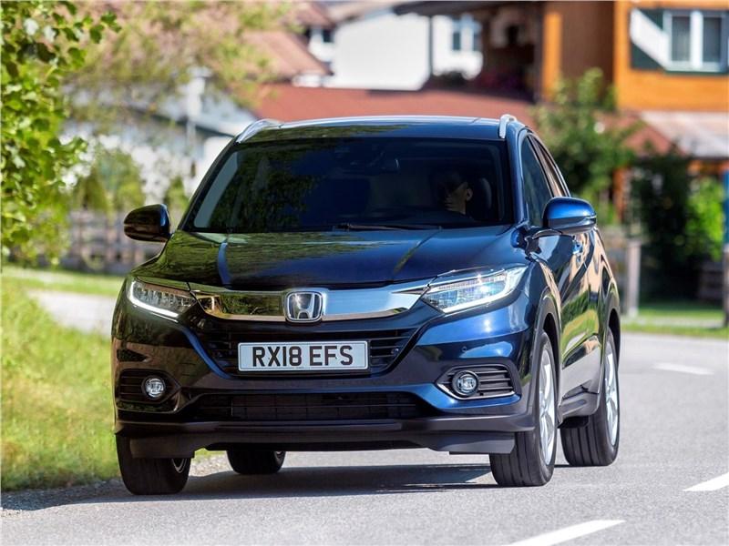Honda HR-V 2019 вид спереди